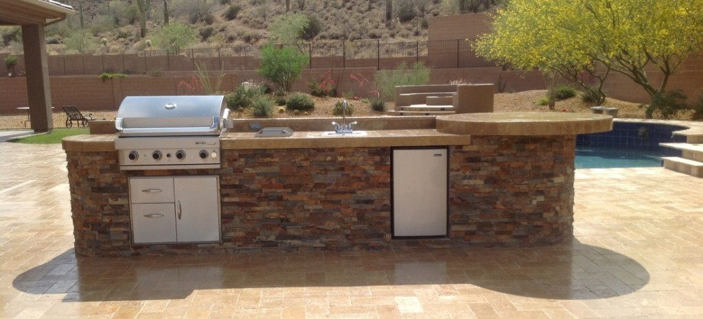 Stone Built In Bbq Phoenix Scottsdale Amp W Nw Valley