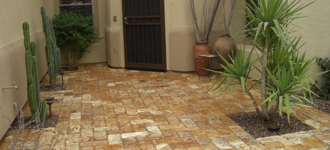 Travertine Stone Pavers
