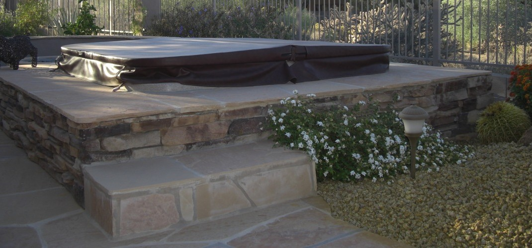 Raised Spa Surrounds