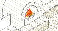 The outdoor fireplace, one of the most popular elements in Scottsdale & Phoenix landscape design today.