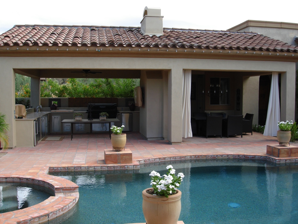 Get more enjoyment from backyard features with outdoor room additions, Phoenix and Scottsdale.