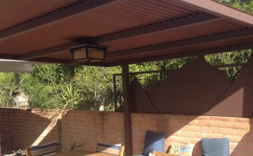 Steel Shade Roof