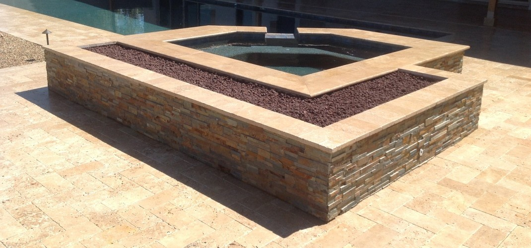 Spa – Fire Pit Combo