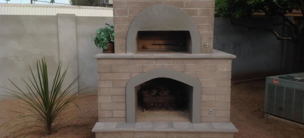 Brick Pizza Oven Amp Outdoor Fireplace Phoenix Desert