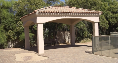 Slatted roof or solid, we've got a design that's just right for you. Desert Crest shade structures: Phoenix and Scottsdale.
