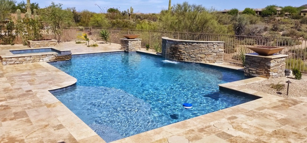 Builder's Pool Finishing