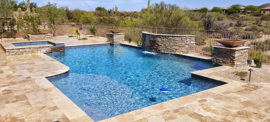 New Swimming Pool Finishing Scottsdale Desert Crest Llc