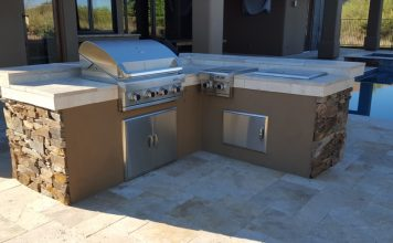 Built In Grill: Scottsdale
