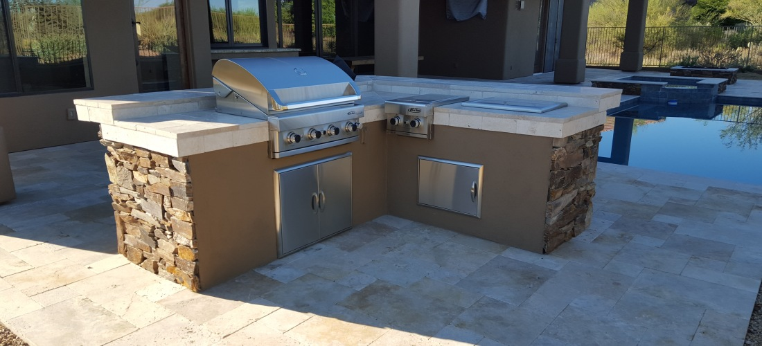 patio portfolio phoenix scottsdale built in bbq grills. Black Bedroom Furniture Sets. Home Design Ideas