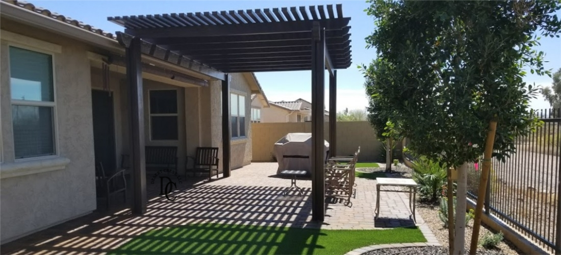 No-Maintenance Pergola & Scottsdale - Phoenix: Patio Covers Pergolas u0026 Ramadas Portfolio ...