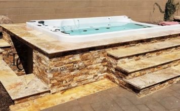 Swim Spa Surround