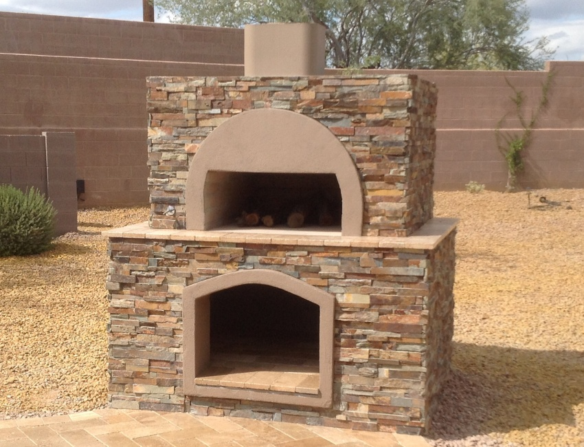 Scottsdale - Phoenix Outdoor Pizza Ovens: wood-fired and gas